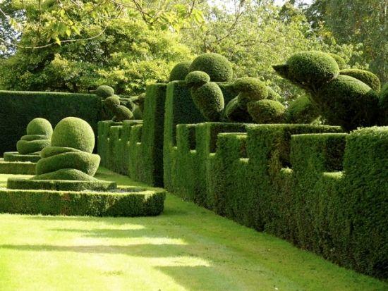 Landschaft Garten Gestaltung Hecke-schneiden Figuren - ✳   #Home  #Landscape #Design via Christina Khandan, Irvine California ༺ ℭƘ ༻   IrvineHomeBlog