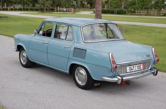 1969 Skoda 1000 MB De Luxe For Sale Rear.jpg