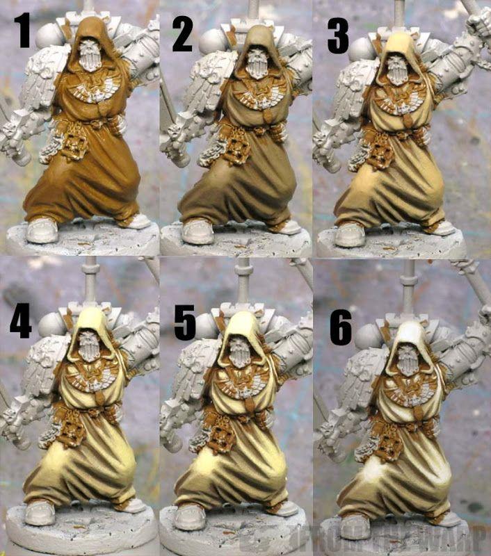Como pintar túnicas