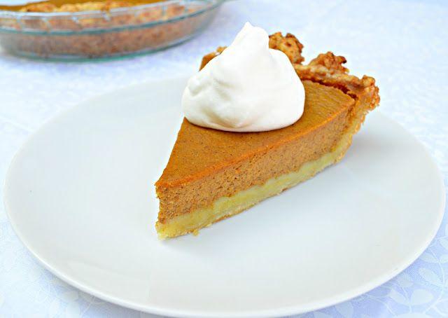 Skinny Pumpkin Pie with greek yogurt