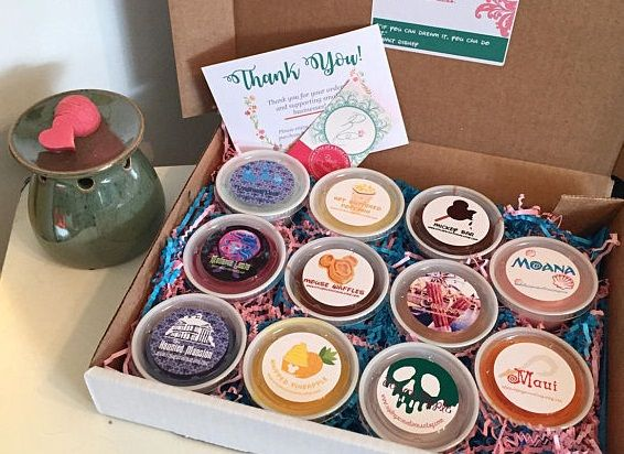 What's better than Disney candle melts? A whole variety pack of Disney candle melts! This deliciousDisney Inspired Candle Melt Sampler SetbyRipleysCreations is hand poured, and full of magical fragrances inspired by Disney attractions, snacks, and characters. I was recently given the chance to try this delightful sample box, packed full of yummy smelling candle melts, …