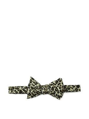 53% OFF Cotton Treats Men's Felix Reversible Bow Tie, Black/Olive