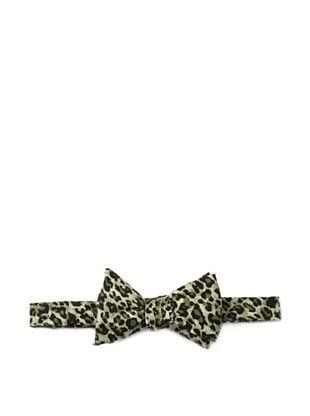 63% OFF Cotton Treats Men's Felix Reversible Bow Tie, Black/Olive