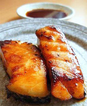 Teriyaki Grilled Cod recipe
