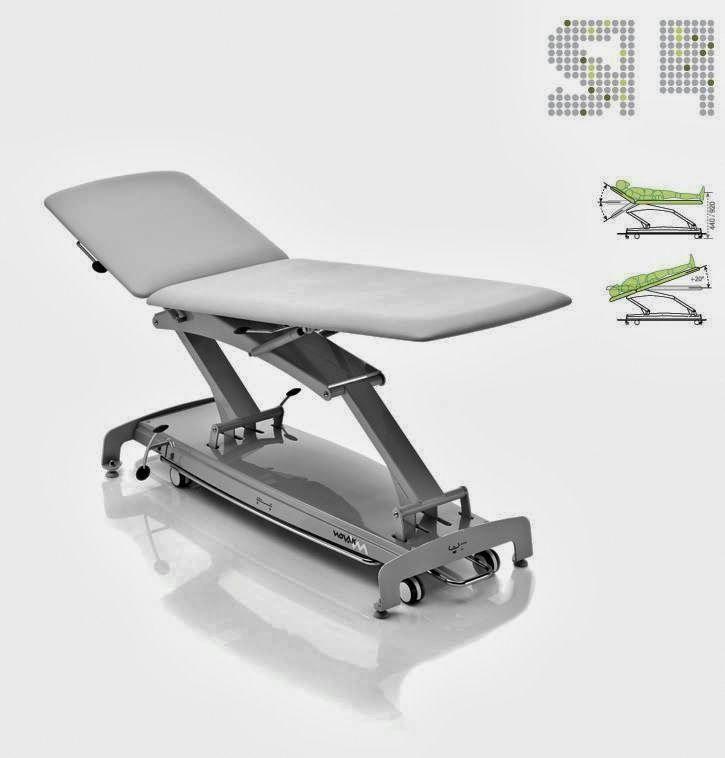 La Table Massage Et Soin Kinesitherapie Et Ou Osteopathie Electrique 2 Sections 65cm Novac Slplus Est Constit Massage Tables Massage Chairs Table Design