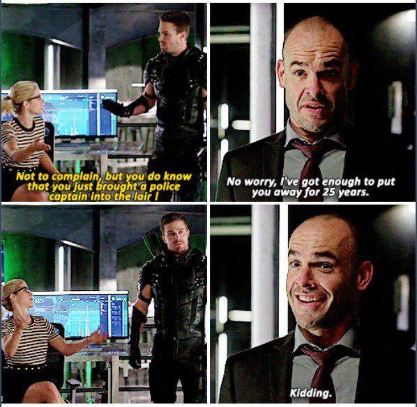 Arrow - Quentin & Felicity #4.4 #Season4 :)