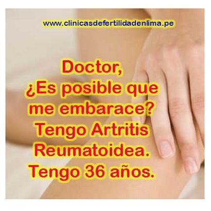 Doctor, ¿es posible quedar embarazada? Tengo artritis reumatoidea. Tengo 36 años ---> http://www.clinicasdefertilidadenlima.pe/qa/puedo-quedar-embarazada-tengo-artritis-reumatoidea/