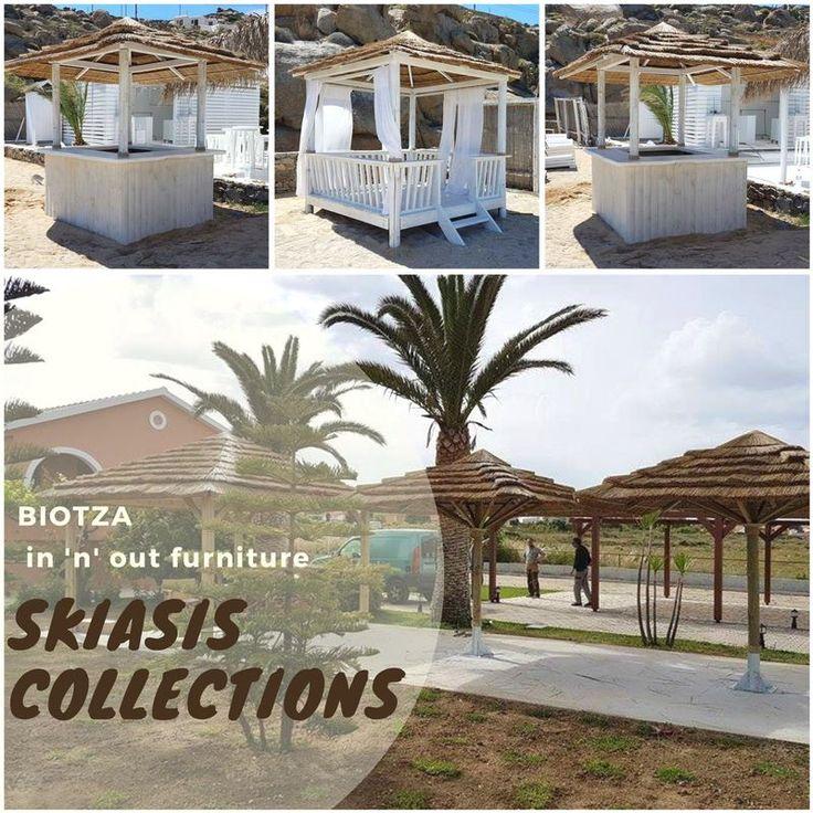 ΒΙΟΤΖΑ Skiasis Collections 👏👏👏 Η εταιρία #ΒΙΟΤΖΑSKIASIS παράγει ψάθινα και ξύλινα έπιπλα εξωτερικού χώρου, καθώς και ξύλινα μπαρ σε διάφορα μεγέθη και σχήματα. ⛱ #BIOTZASA #parasol #sidetables #sunbeds #outdoorfurniture