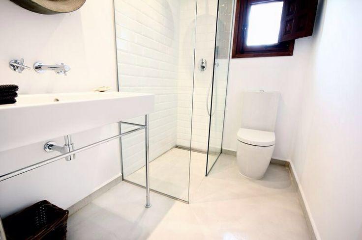 www.hormimpres.com #baño de #microcemento #bath #concrete #decor