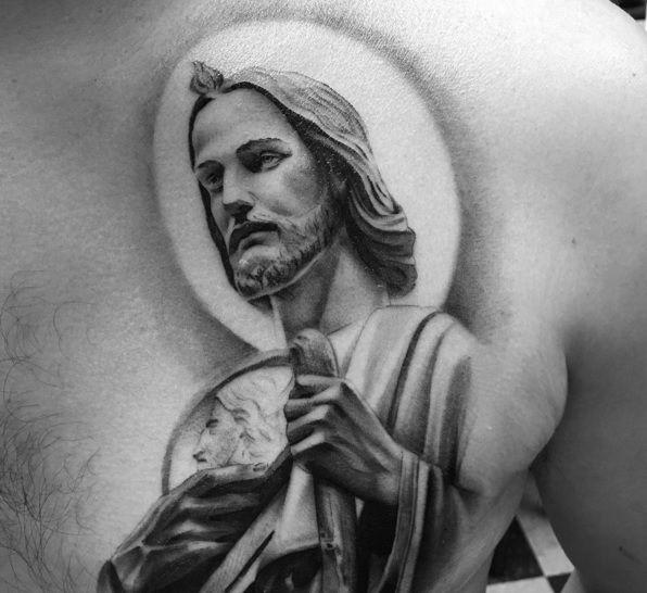 Tatuajes de San Judas Tadeo (+ Ejemplos en Imágenes)