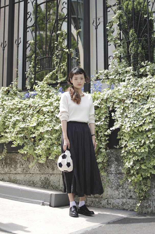 [Street Style] 山田彩未   Dot + Lim   Aoyama (Tokyo)