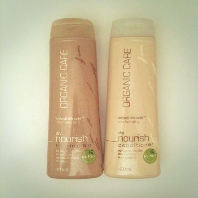 Organic vegan shampoo and conditioner