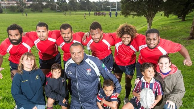 Box Hill Rugby Club welcomes 10 Fijian players on a mission with open arms | HeraldSun
