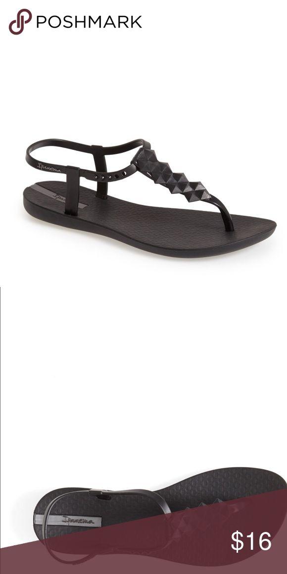 IPANEMA Cleo t strap sandals , worn once! Ipanema Cleo to strap rubber sandals Ipanema Shoes Sandals