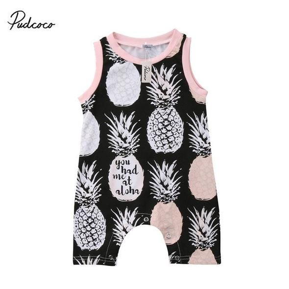 Muscle Baby Newborn Baby Sleeveless Jumpsuit Romper