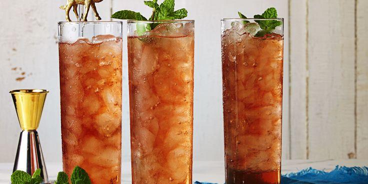 Peach Sweet Tea With Bourbon