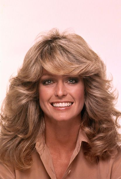 The 50 Most Iconic Hairstyles of All Time: Farrah Fawcett — The Feathered Flip (1970s)