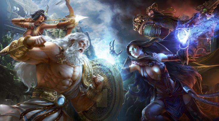 Smite - Battleground of the Gods : baston générale chez les dieux !