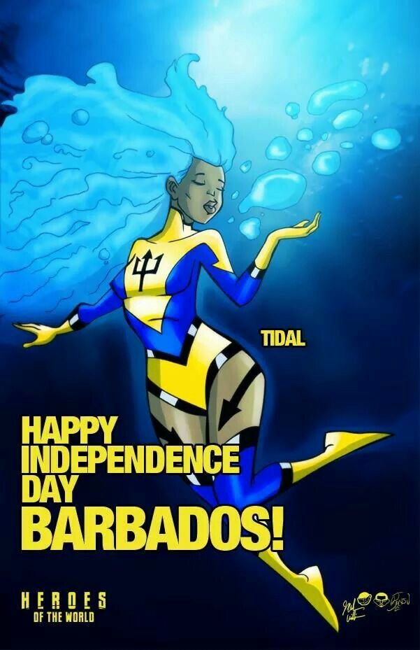 Happy Independence Day Barbados w/ Tidal of Heroes Of The World - www.theheroesoftheworld.com