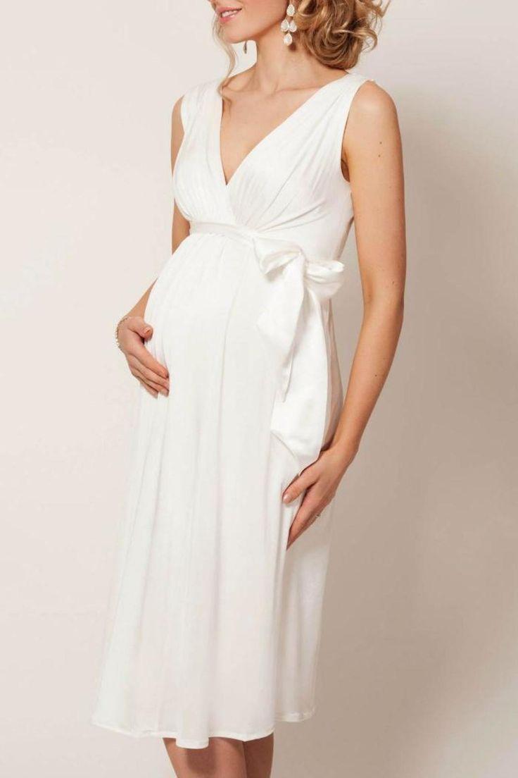 Best 25 white maternity dresses ideas on pinterest lmp tiffany rose white maternity dress ombrellifo Image collections