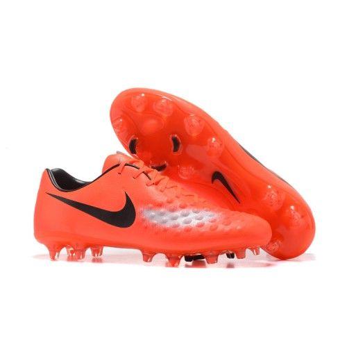 Billig Nike Magista Orden II FG Fotbollsskor Orange