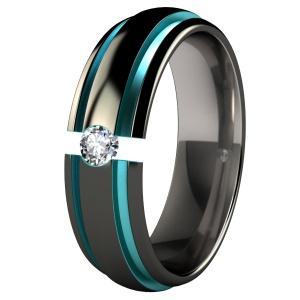 Black Wedding Rings For Him On Pinterest Titanium Rings Wedding Ring And Wedding Ring Set
