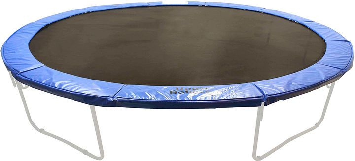 UPPER BOUNCE Super Trampoline Safety Pad (Spring Cover) Fits for 17 x 15 FT. Oval Frames - Blue