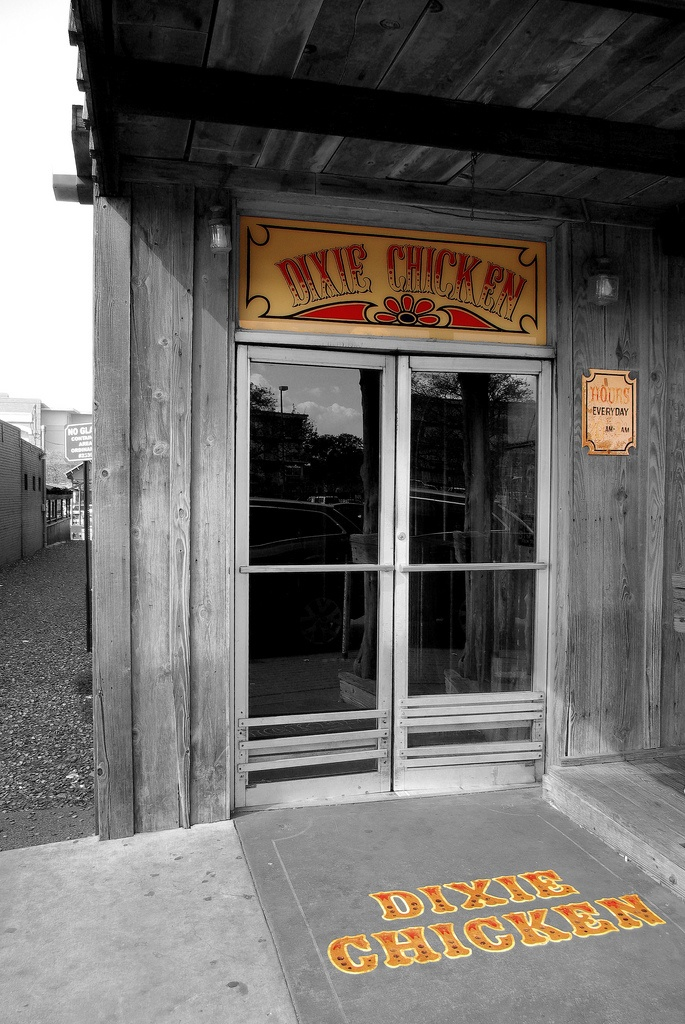 College Station's favorite watering hole: The Dixie Chicken, founded 1974