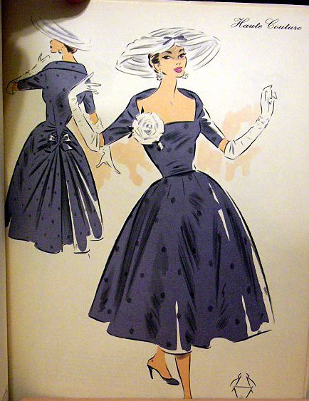 vintage sewing pattern cover