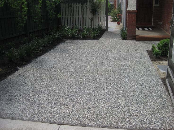 137 best Exposed aggregate concrete images on Pinterest | Driveway ...