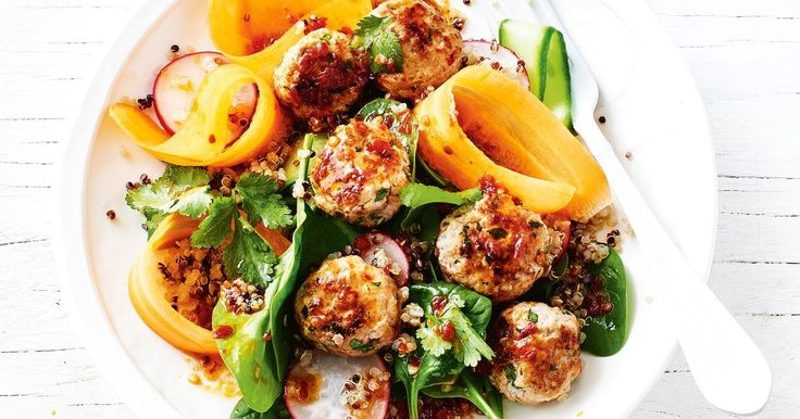 Spicy meatballs never looked so good, thanks to this 30-minute weeknight winner.