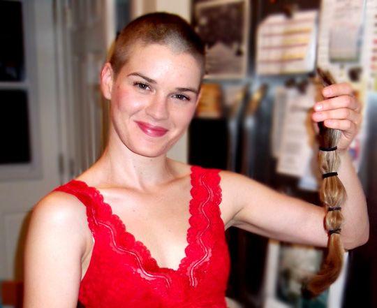 Bald Women Haircuts Buzz Cuts