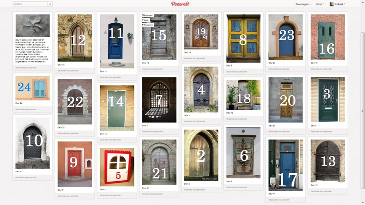 Adventskalender op Pinterest @Museon Den Haag