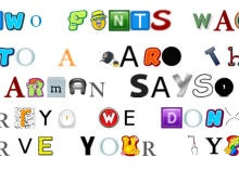 Harness the power of Google's image search to create a unique new font. Google Type translates your letters into a collection of pictures. Read this article by Amanda Kooser on CNET. via @CNET