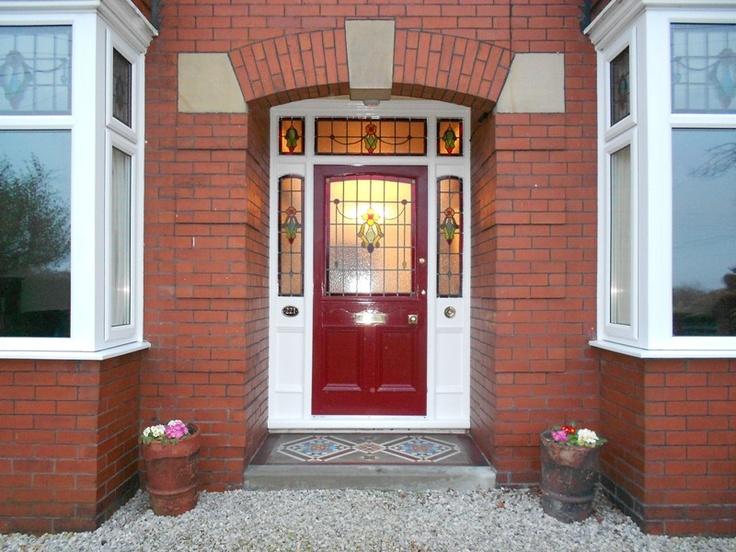 An original Victorian front door