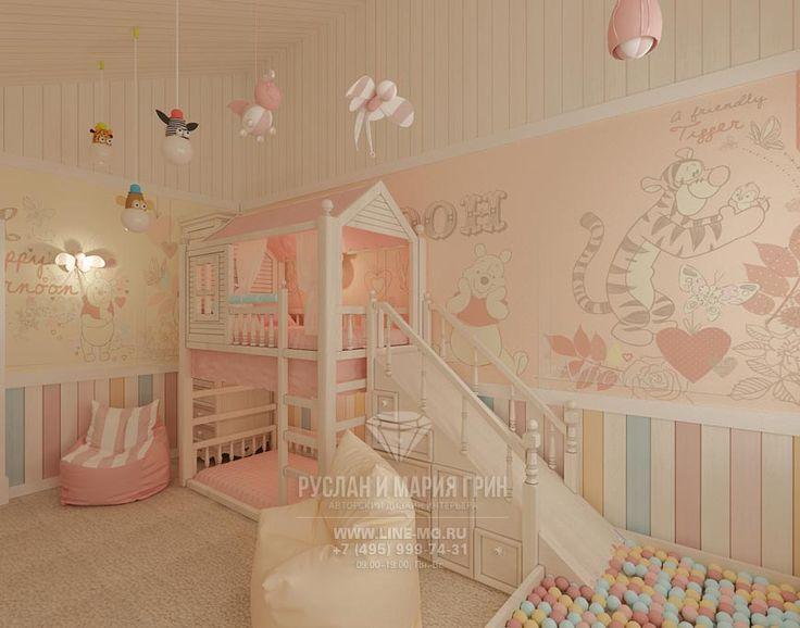 Дизайн детской в пастельных тонах http://www.line-mg.ru/portfolio/dizayn-taunhausa-suhanovo-park/
