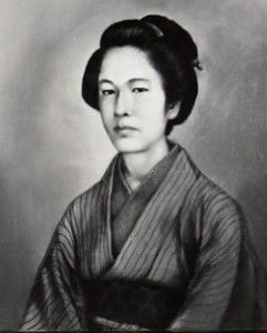 Nakano Takeko.  Led an ad hoc corps of women during the Battle of Aizu.