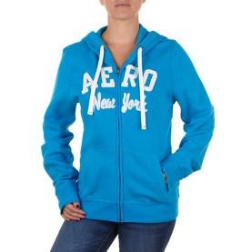 Hoodie zippé à capuche bleu vif - Aéropostale @ my-store.ch