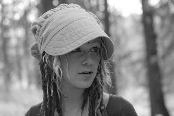 Dreadlock Sun Cap Wrap Bonnet by EARTHWORKER on Etsy