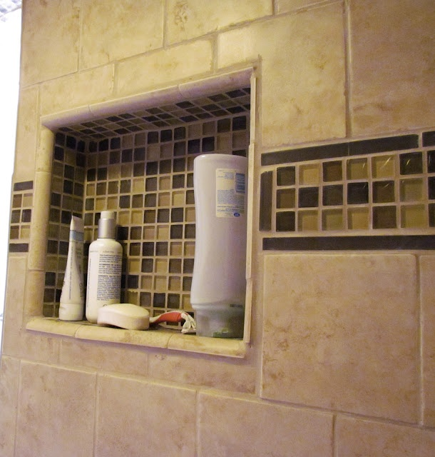 Love Built In Shower Nooks Instead Of Caddies, Etc