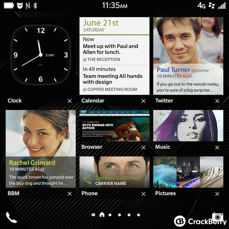 Check out this bevy of BlackBerry Passport & OS 10.3 screenshots