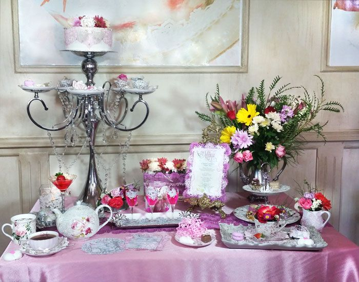 Up Close: Crystal Candy's English High Tea Collection