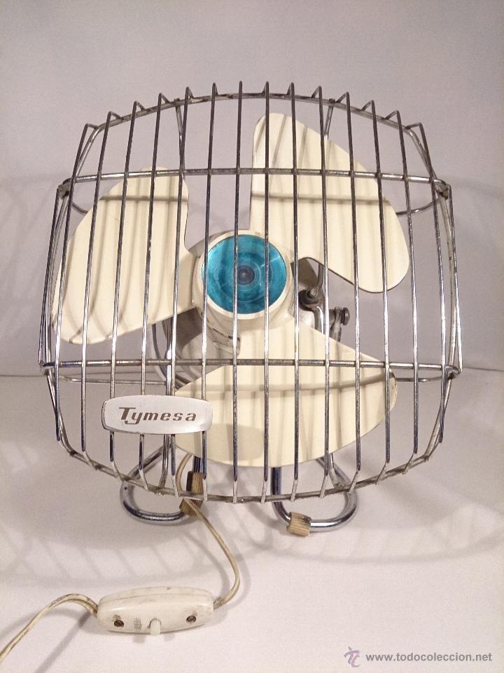 Pequeño ventilador Tymesa. Funcionando.