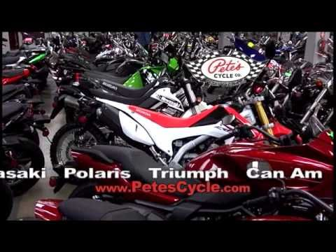 We are Baltimore's number 1 dealer for all types of motorcycles, watercraft & ATVs. We have 3 stores stocked full of accessories & repair technicians all trained & ready to help you.