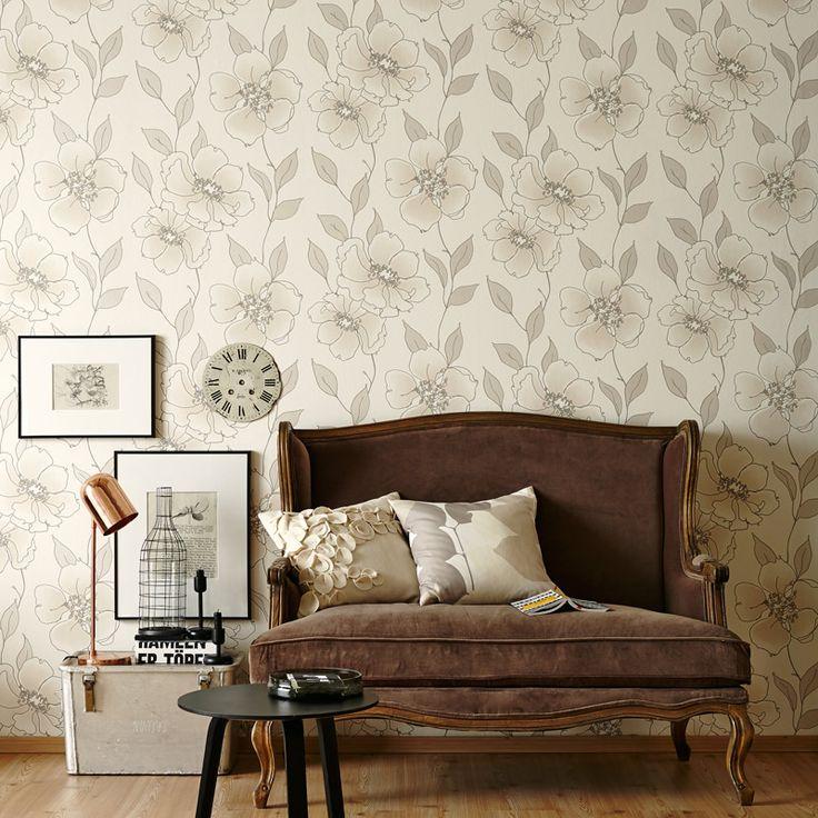17 besten Streifentapeten @AS Création Tapeten Bilder auf - schöner wohnen tapeten wohnzimmer