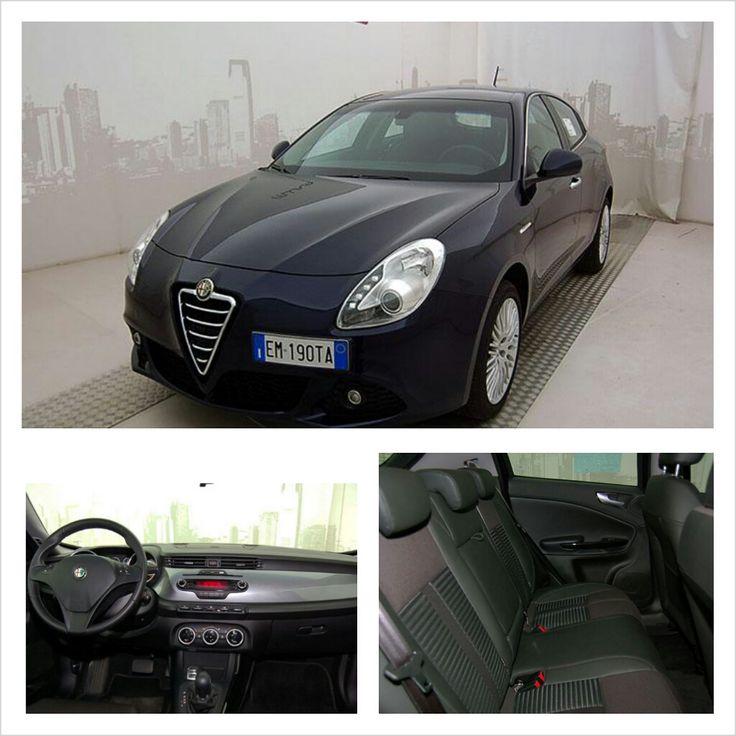 Alfa Romeo Giulietta 2.0 JTDM 170 CV Exclusive, color Blu Profondo, a 18.890 €! #AlfaRomeo #Giulietta #Mirafiorioutlet #lanostravetrina #usato