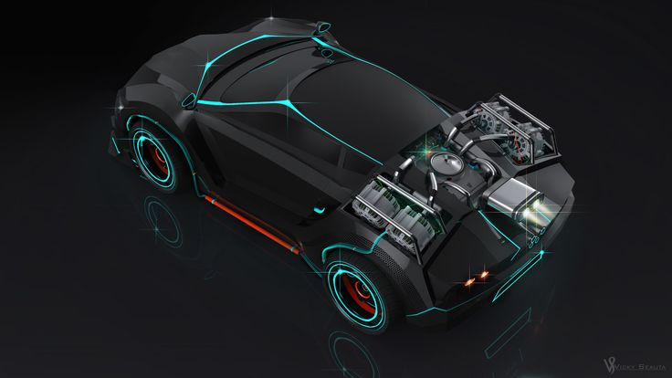 ArtStation - Back To The Future Car Redesign, Vicky Seauta