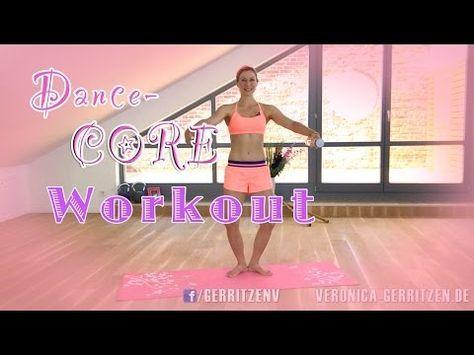 Dance Core WORKOUT | Mega Heißes Workout zum Fett verbrennen | VERONICA-GERRITZEN.DE - YouTube