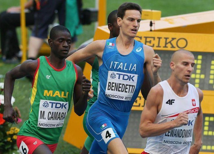 Giordano Benedetti ha gareggiato negli 800 metri (Epa)