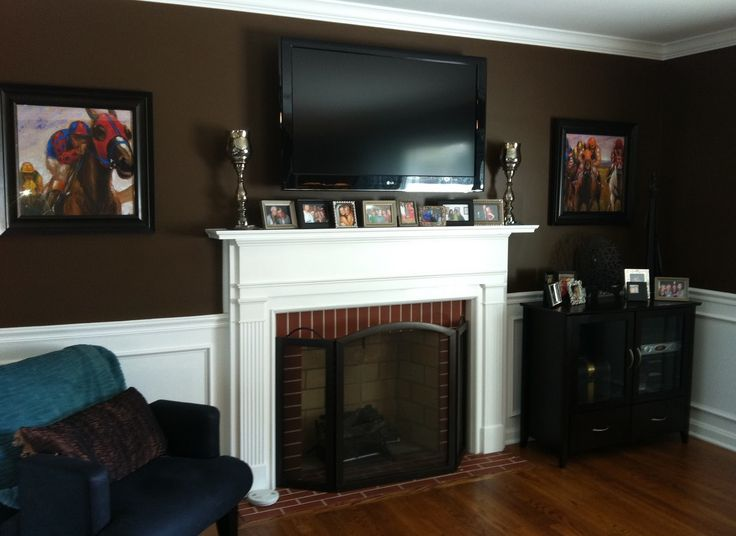 23 best mounting tv over fireplace images on Pinterest | Fireplace ...